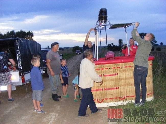 Lot balonem w prezencie