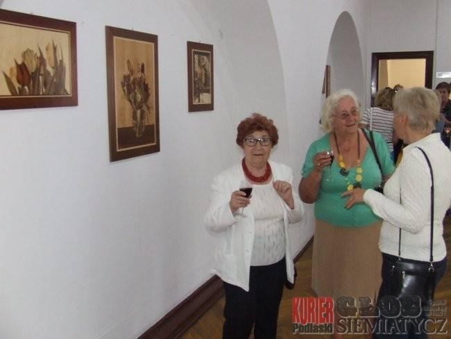 Wernisaże - spotkania , Intarsje galerii - zdjęcie, fotografia