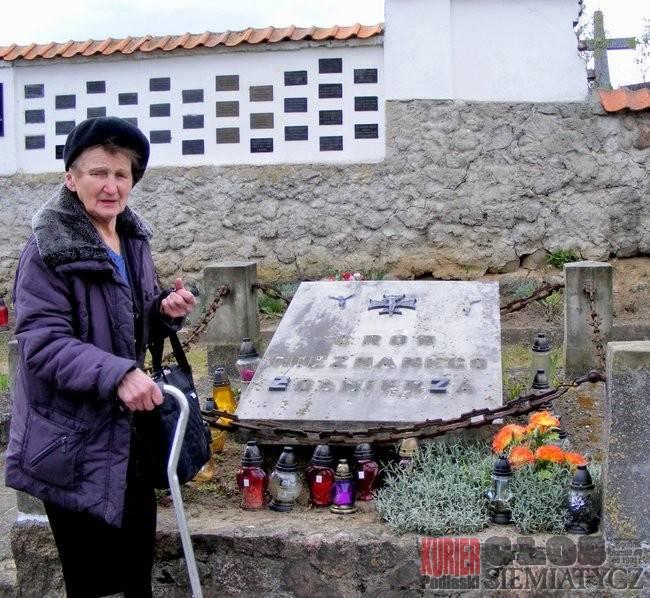 Interwencje, Wandalizm cmentarzu - zdjęcie, fotografia