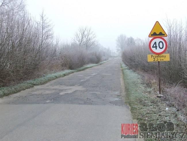 Droga Perlejewo - Ostrożany