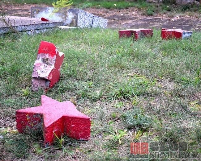 Cmentarze w Milejczycach zniszczyły... dzieci