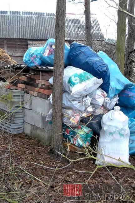 Perlejewo - Problem z odbiorem śmieci