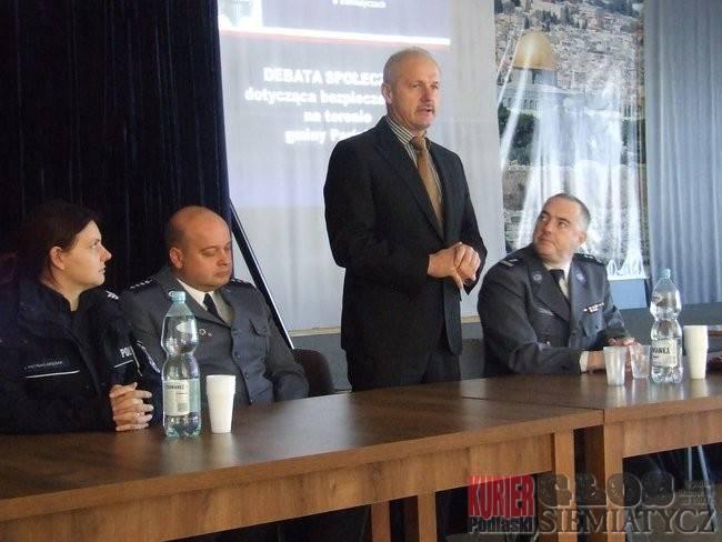 Perlejewo  - Debata o bezpieczeństwie