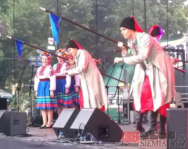 Muzyka - Koncerty, Bielsk Podlaski Ukraiński Festiwal strugach deszczu - zdjęcie, fotografia