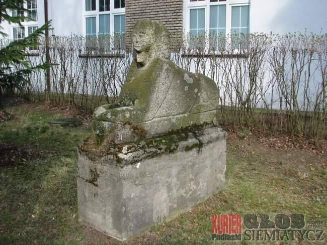 Notatnik historyczny, Siemiatycze Sfinks Grodziska - zdjęcie, fotografia