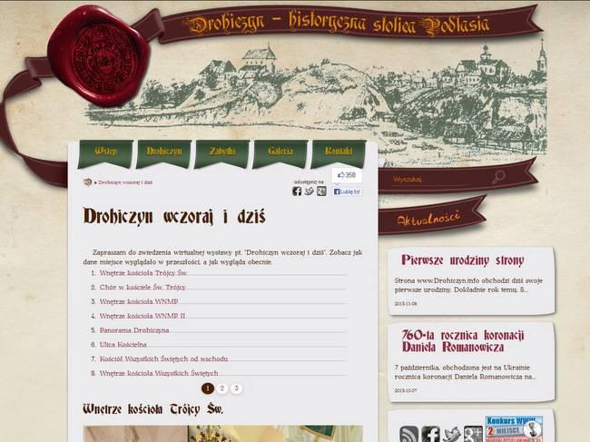 Drohiczyn - Historia w jednym miejscu