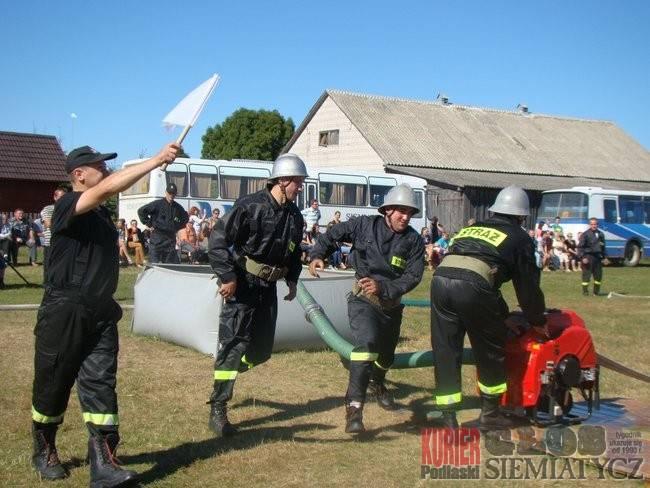 Aktualności - Boćki, Boćki Sprawdzian sprawności strażaków - zdjęcie, fotografia