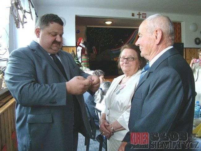 Aktualności - Boćki, Boćki Małżeństwa medal - zdjęcie, fotografia