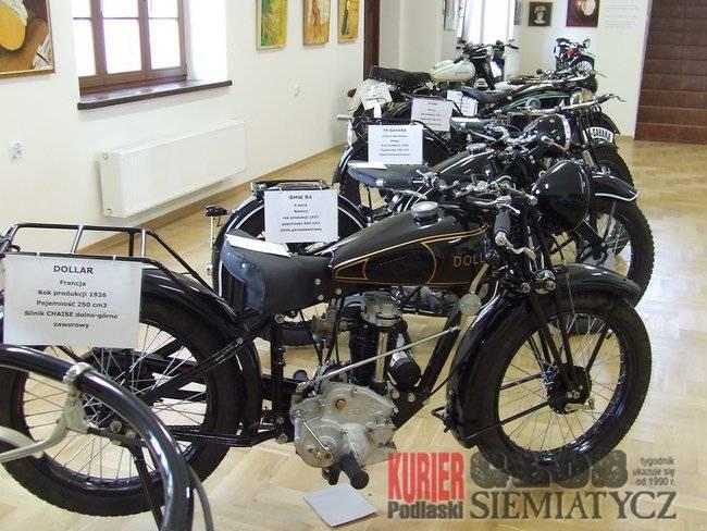 Drohiczyn - Wystawa starych motocykli