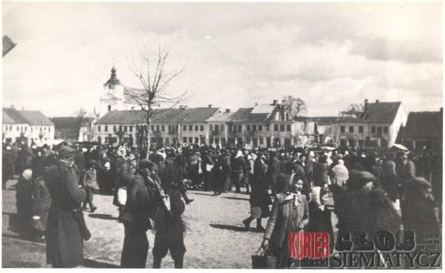 Album Starych Fotografii, Siemiatycze Wiosna - zdjęcie, fotografia