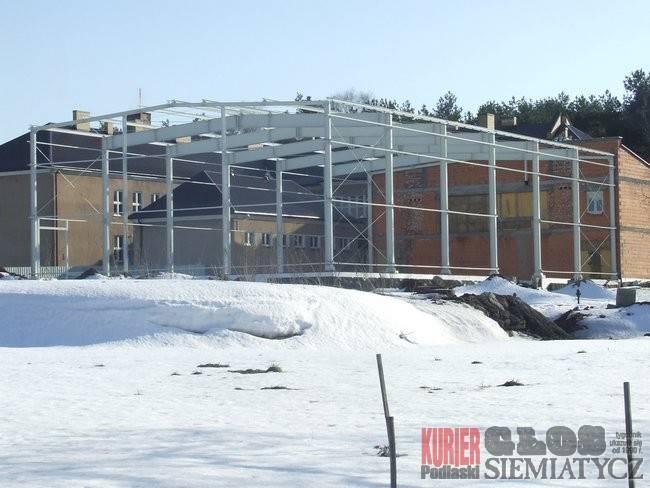 Nurzec Stacja - Hala sportowa w budowie