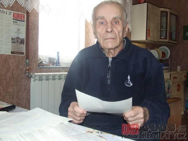 Perlejewo - Miał wtedy 17 lat