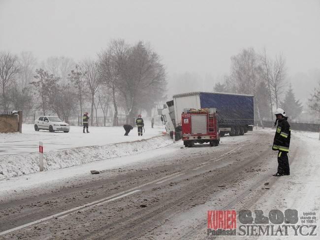 Dziadkowice - Wyciekło 300 litrów ropy
