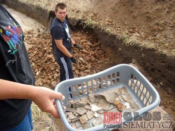Aktualności - Boćki, Boćki Ostatni sezon wykopalisk Dubnie - zdjęcie, fotografia