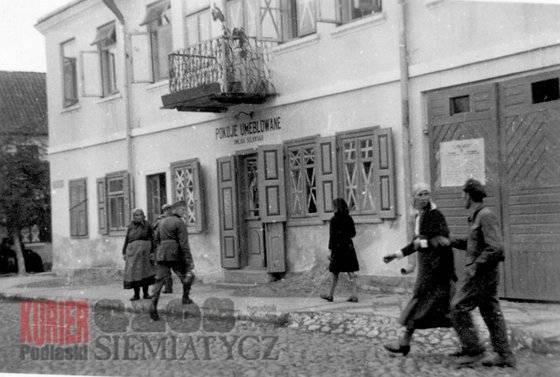 Album Starych Fotografii, pierwszy publikowane Siemiatycze - zdjęcie, fotografia