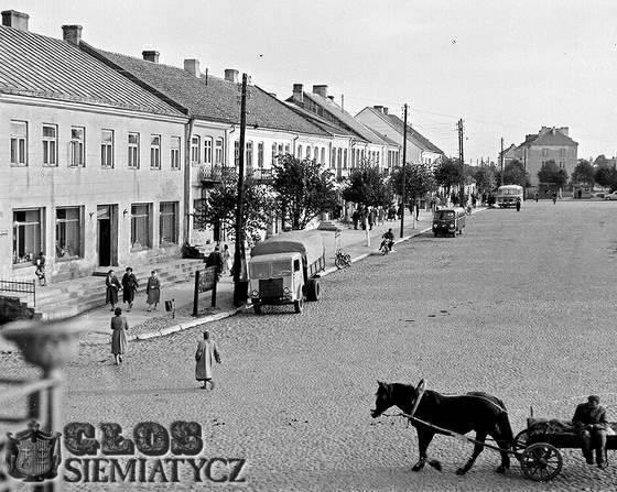 Album Starych Fotografii, placu Wyzwolenia - zdjęcie, fotografia