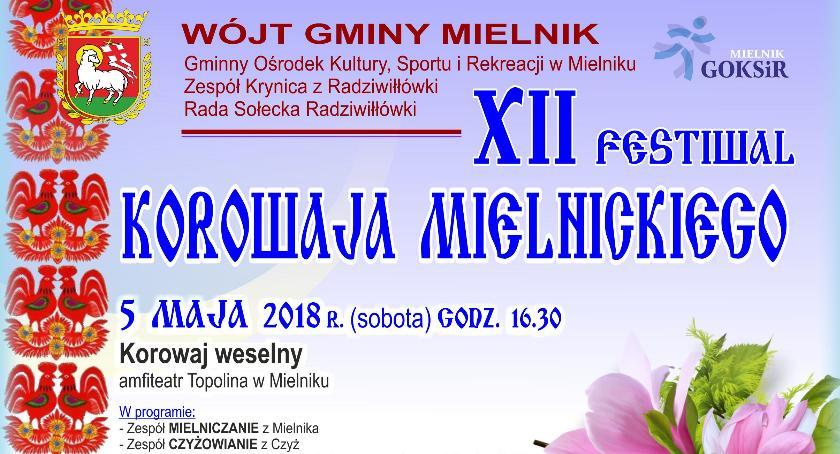 Święta i uroczystości, Festiwal Korowaja Mielnickiego - zdjęcie, fotografia
