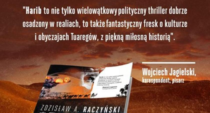 Wernisaże - spotkania , Wieczór autorski Zdzisław Raczyński Harib - zdjęcie, fotografia