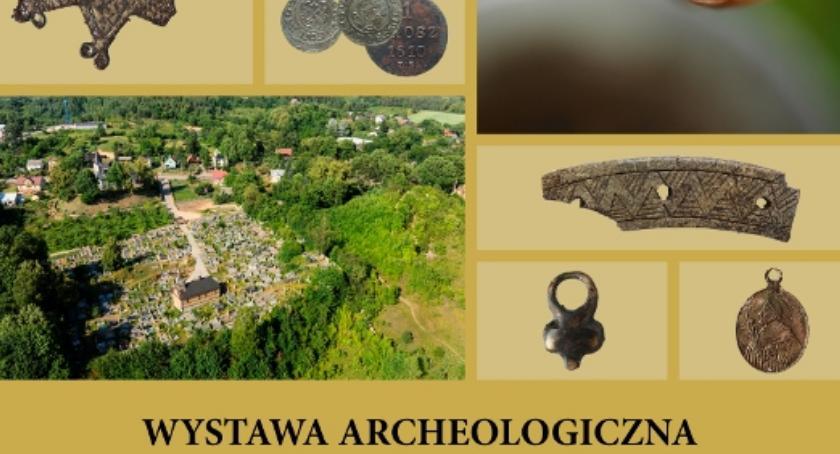 Wernisaże - spotkania , Wystawa archeologiczna Mielniku - zdjęcie, fotografia