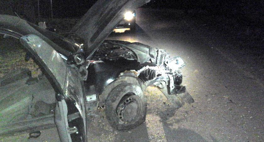 Wypadki drogowe, Majówka tragicznym zakończeniem - zdjęcie, fotografia