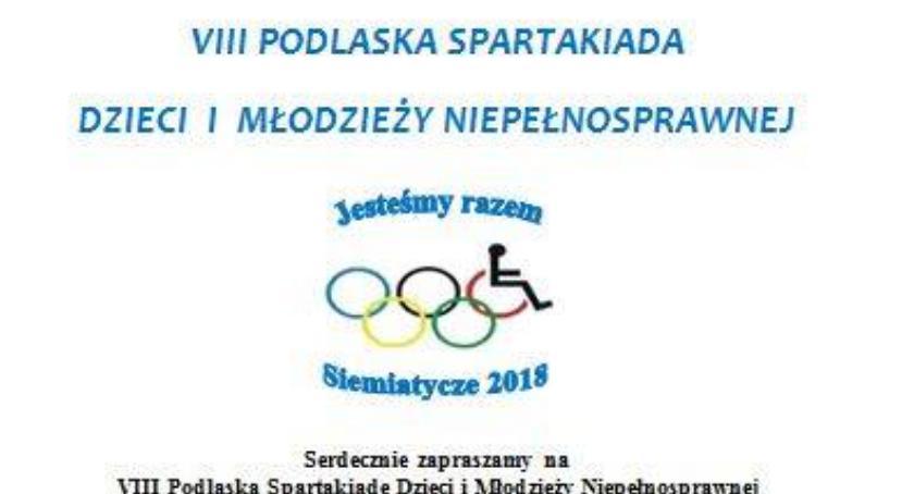 Rózne dyscypliny, Podlaska Spartakiada Dzieci Młodzieży Niepełnosprawnej - zdjęcie, fotografia