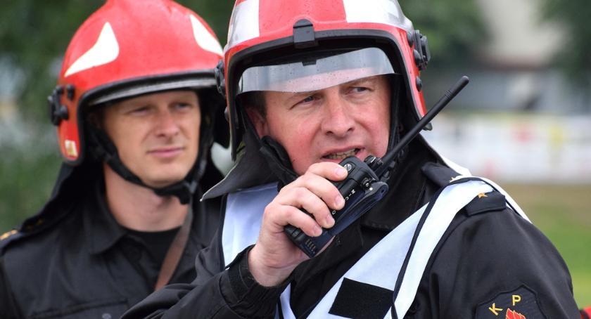 Pożary - straż, Powiatowe Obchody Strażaka Siemiatyczach - zdjęcie, fotografia