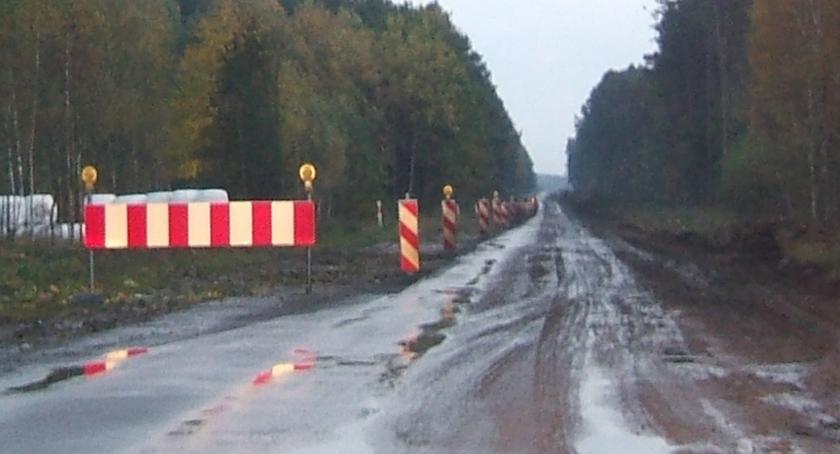 Administracja, dokończy drogę Ostrożany Ciechanowiec - zdjęcie, fotografia