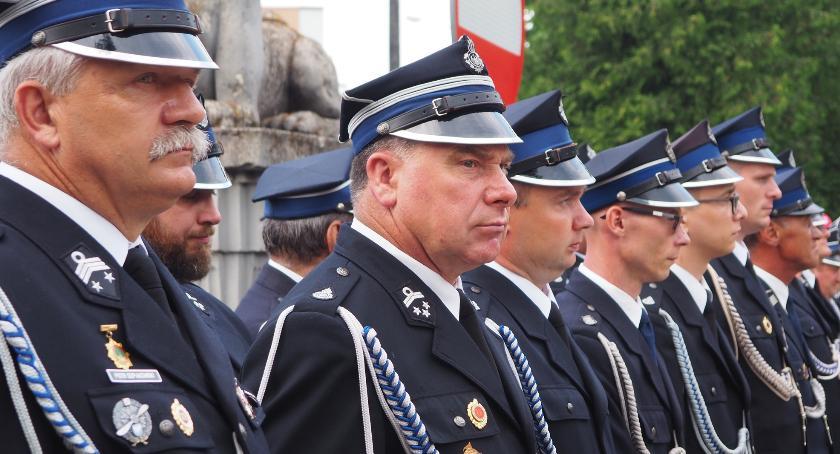 Pożary - straż, Powiatowy Dzień Strażaka - zdjęcie, fotografia