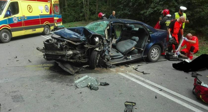 Wypadki drogowe, Śmierć drodze - zdjęcie, fotografia