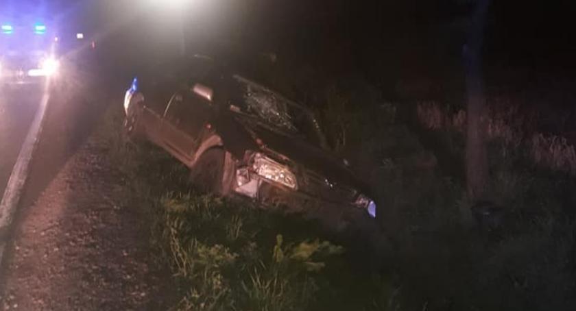 Wypadki drogowe, Kierowca zbiegł miejsca kolizji - zdjęcie, fotografia