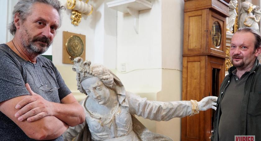 Notatnik historyczny, Barokowy ołtarz odzyska historyczny blask - zdjęcie, fotografia