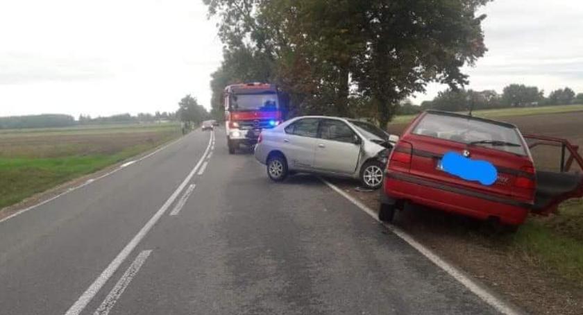 Wypadki drogowe, wypadki jednego - zdjęcie, fotografia