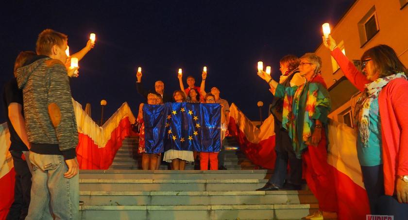 Teatr, Konstytucja Europy spotkanie aktorem - zdjęcie, fotografia