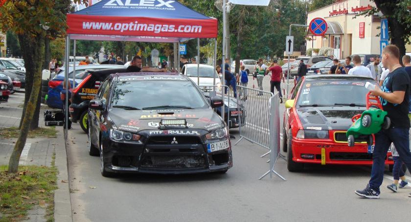 Sporty motorowe, Samochodowe Eliminacje Białegostoku - zdjęcie, fotografia