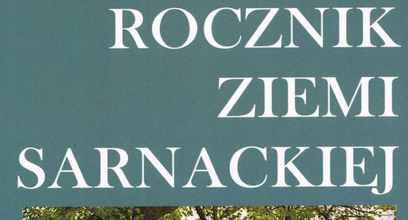 Publikacje - recenzje, Rocznik Ziemi Sarnackiej - zdjęcie, fotografia