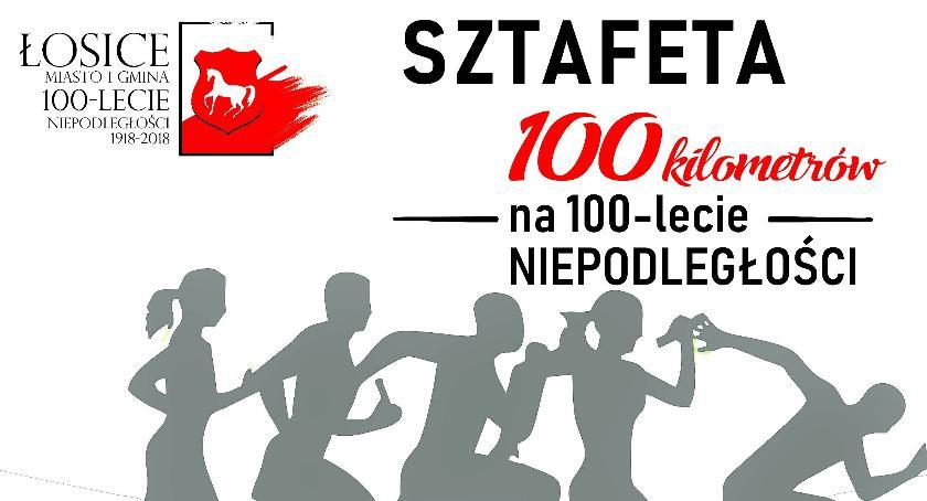 Bieganie , lecie Odzyskania przez Polskę Niepodległości - zdjęcie, fotografia