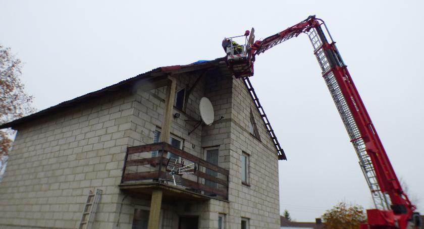 Pożary - straż, Pomoc strażaków gminy - zdjęcie, fotografia