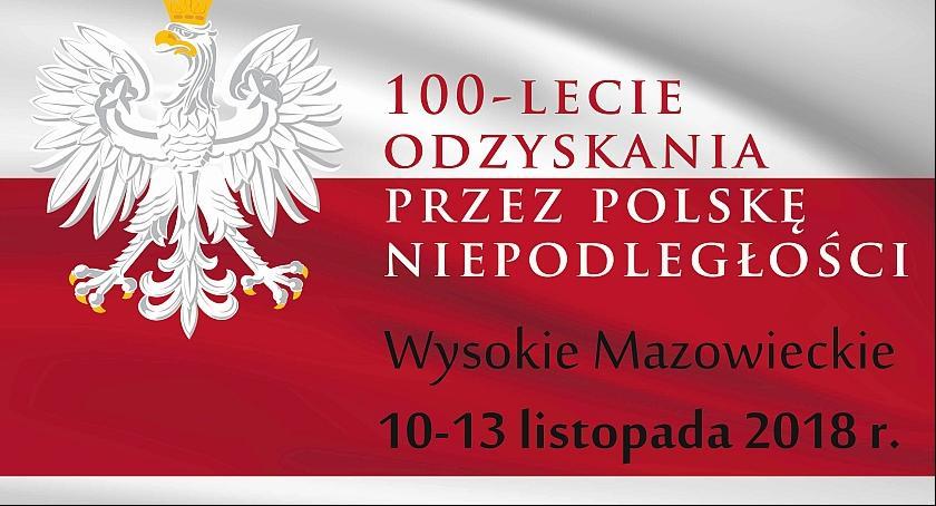 Święta i uroczystości, Miejskie Obchody lecia Odzyskania Niepodległości Wysokiem Mazowieckiem - zdjęcie, fotografia