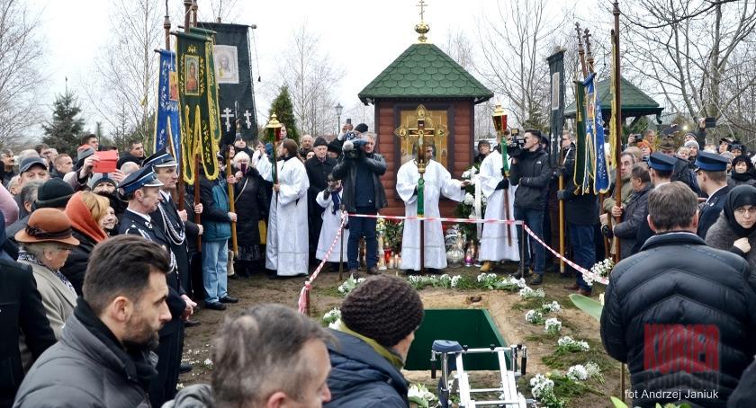 Religia, Pogrzeb archimandryty Gabriela - zdjęcie, fotografia