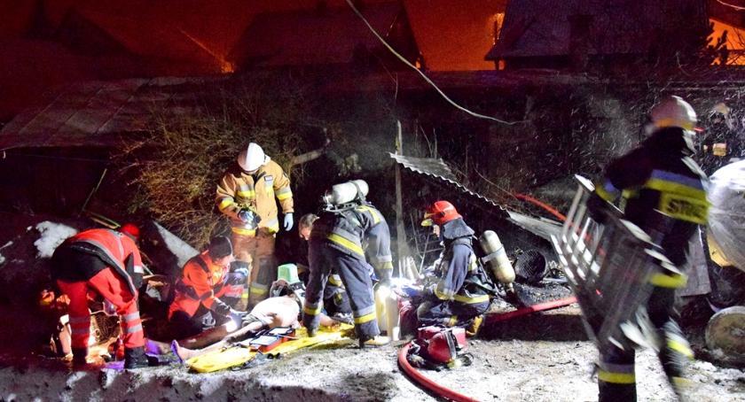 Pożary - straż, Śmierć pożarze - zdjęcie, fotografia