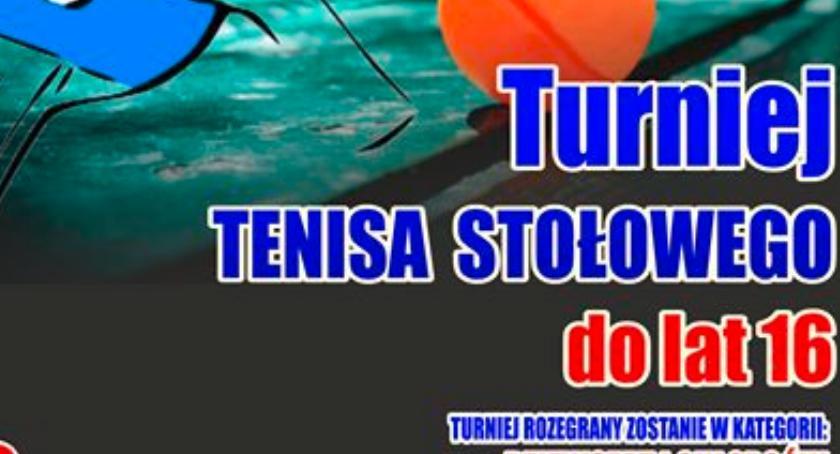 Rózne dyscypliny, Turniej Tenisa Stołowego Mielniku - zdjęcie, fotografia