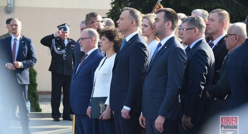 Administracja, Spotkanie prezydentem - zdjęcie, fotografia