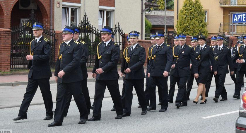 Pożary - straż, Święto strażaka Łosicach - zdjęcie, fotografia