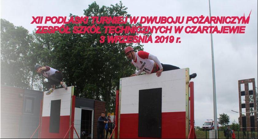 Pożary - straż, Podlaski Turniej Dwuboju Pożarniczym - zdjęcie, fotografia