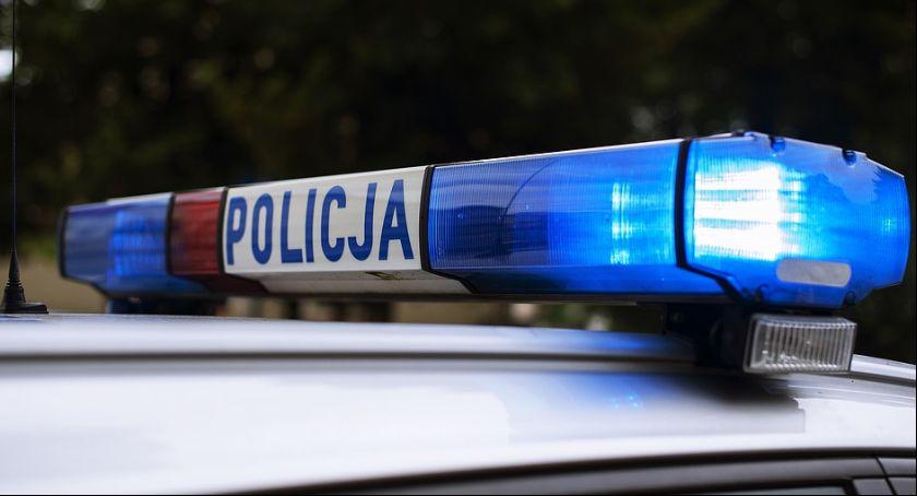 Sprawy kryminalne, Strzelanina Biedronki Ranny policjant - zdjęcie, fotografia