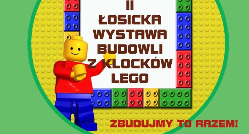 Wernisaże - spotkania , Łosicka Wystawa Budowli Klocków - zdjęcie, fotografia
