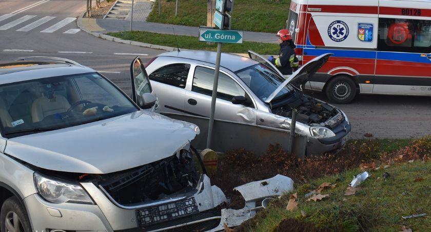 Wypadki drogowe, Zderzenie Siemiatyczach - zdjęcie, fotografia
