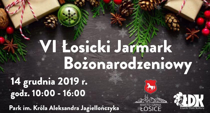 Święta i uroczystości, Łosicki Jarmark Bożonarodzeniowy - zdjęcie, fotografia
