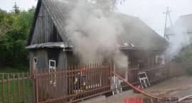Dwa pożary jednego domu