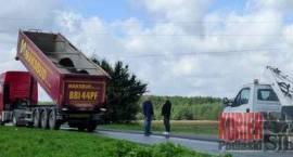 Wypadek koło Słoch. Zmarł kierowca porażony prądem